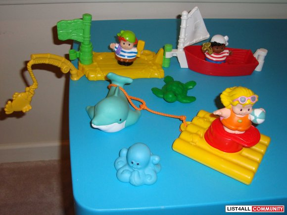 Fisher Price Little People Bath Sets