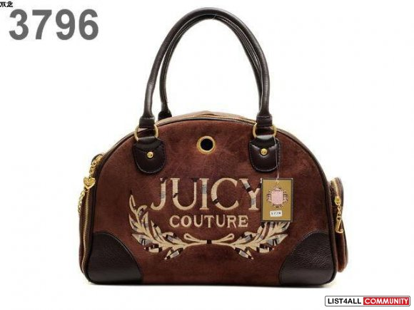 low price New Juicy Couture Pink Pop Lock Satchel Tote Hand Bag