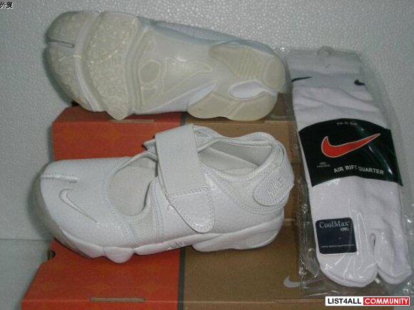 low price 2010 NEW! NIKE AIR RIFT TLO WHITE/BLACK Shoes WOMENS size6-1