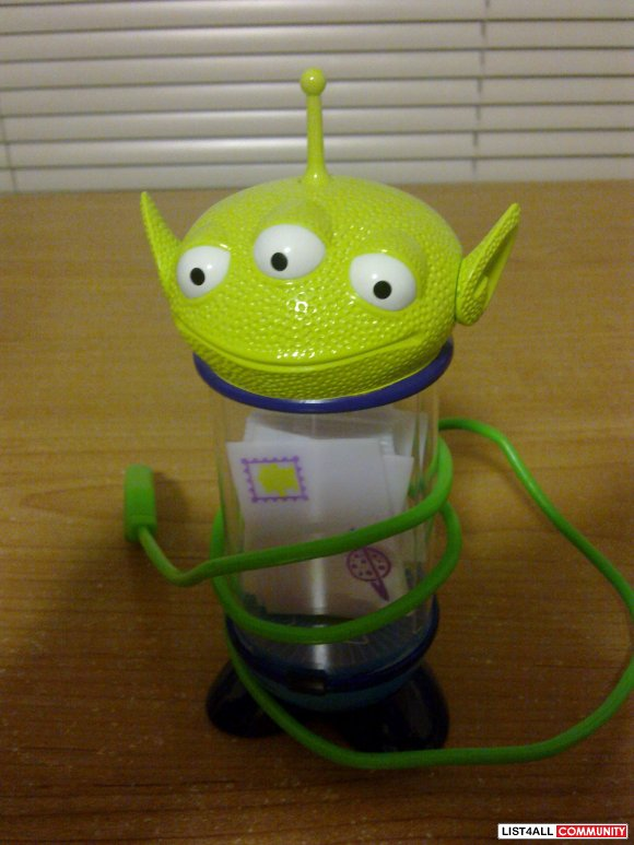 BRAND NEW TOYS STORY ALIEN USB LEVITATING MAIL ALERTS FOR INCOMING EMA