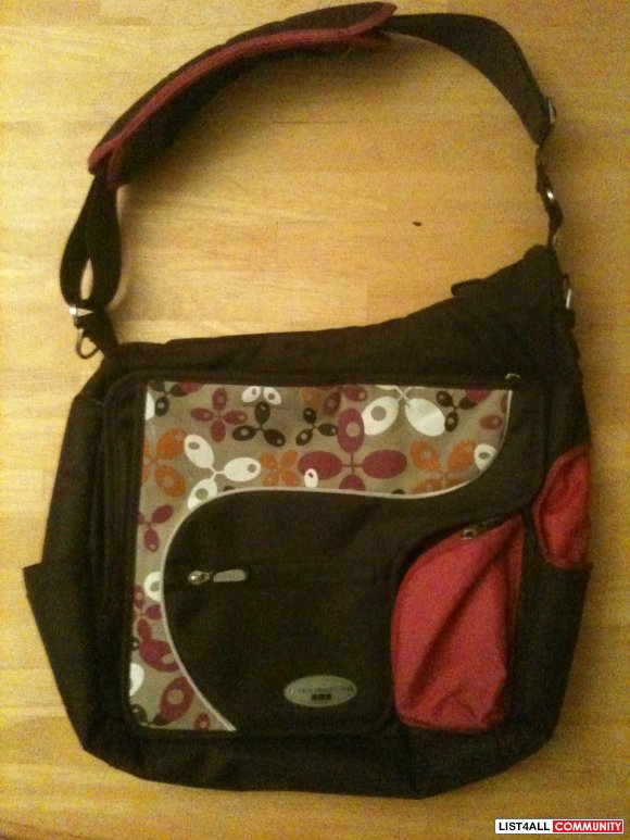 JJ Cole Diaper bag with change pad