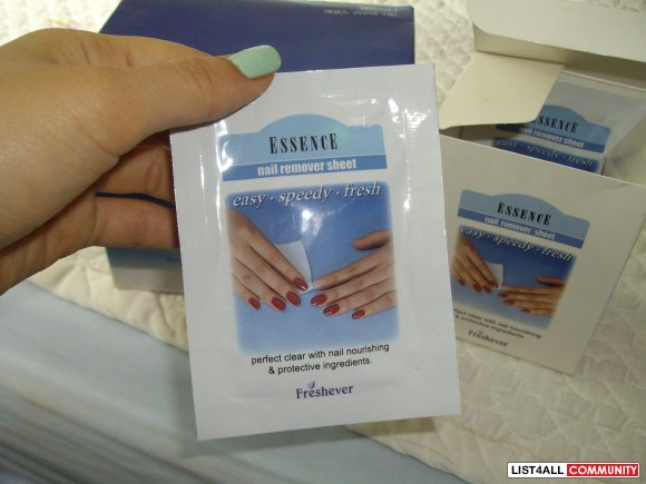 Hercyna Nail Polish Removing Wipes
