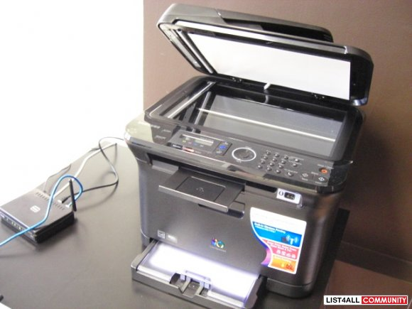 Samsung CLX 3175FW Colour Laser Printer Multi Fax Copy Scan