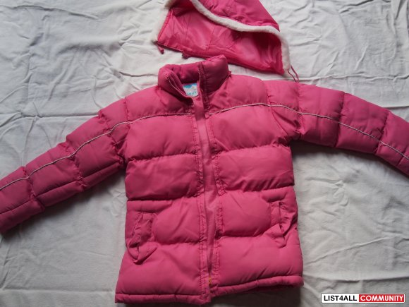 2 Girl winter coats for age 8&12