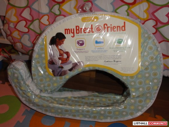 My brestfriend  feeding pillow