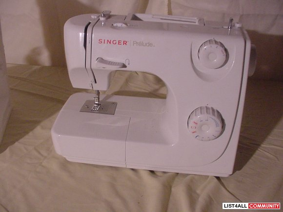 singer prelude sewing machine model 8280