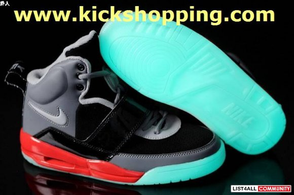 sale retailer 85657 b8ae0 Cheaper Nike Air Yeezy Black and Pink Kanye West Yeezys Size ...