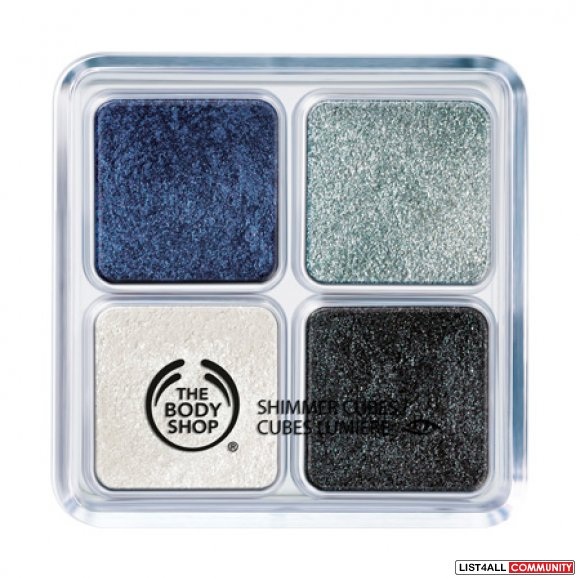 The Body Shop Shimmer Cube Palette